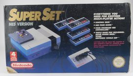 EMPTY BOX - Nintendo 8-Bit Super Set (box and manual only, no console!)
