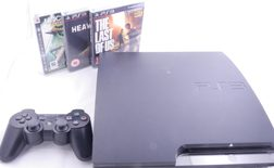 Sony Playstation 3 Slim 120GB Console PS3 Exclusive Bundle