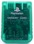 Playstation 1 Memory Card (Clear Green)