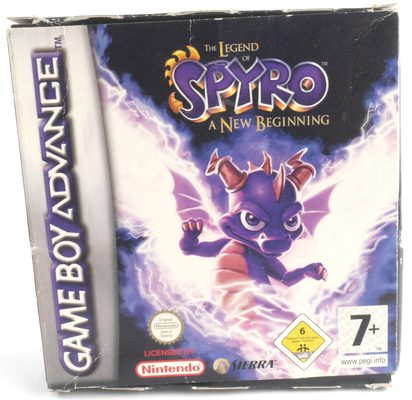 EMPTY BOX - Spyro: A New Beginning (box only, no game!)