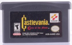 Castlevania: Circle Of The Moon - GBA