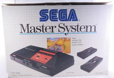 Sega Master System I Console With Hang-On And Two Controllers