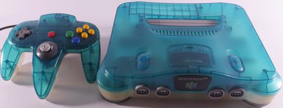 Nintendo 64 Console (N64) Turquoise