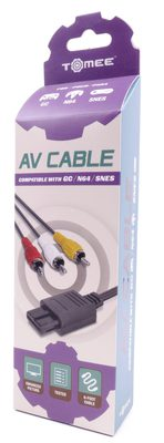AV Cable for GC, N64 And SNES (Tomee)