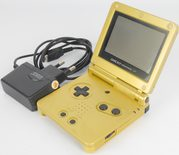 Game Boy Advance SP Console Zelda Limited Edition (Gold)