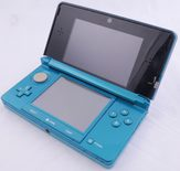 Nintendo 3DS Black / Aqua Blue Console