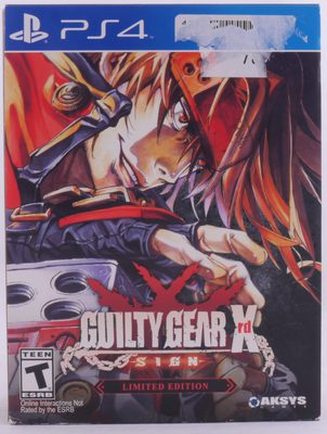 Guilty Gear Xrd SIGN Limited Edition