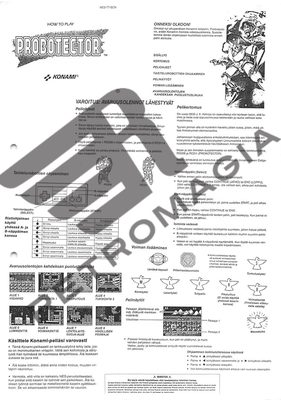 Probotector (Rental Manual)