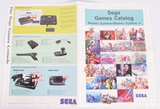 Sega Games Catalog For Master System