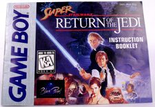 Super Star Wars Return of the Jedi (Manual)