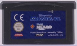 Monsters, INC + Finding Nemo - GBA