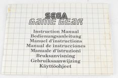 Sega Game Gear Console (Manual)