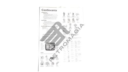 Castlevania (rental manual)