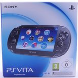PS Vita Crystal Black Console (PCH-1004)