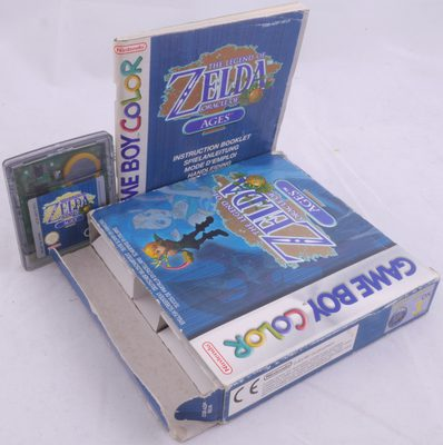 The Legend Of Zelda: Oracle Of Ages - GBC