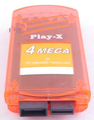 Play-X 4MB VMU (Red)