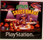 Attack of the Saucerman (Rental) - PS1