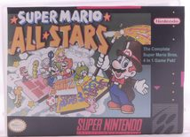 Super Mario All-Stars (Repro Cover, Original Game) - SNES