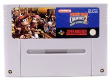 Donkey Kong Country 2: Diddy Kong's Quest - SNES