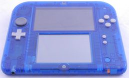 Nintendo 2DS Console (Transparent Blue)