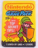 Topps Nintendo Game Pack (3 Scratch Off Cards, Link Cover)