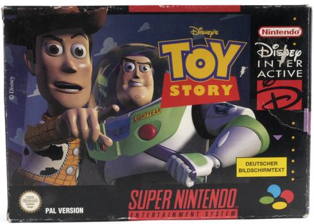 EMPTY BOX - Toy Story (manual + box, no game!)