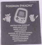 Pokemon Pikachu (Manual)