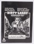 Dirty Larry Renegade Cop - Manual (Atari Lynx)