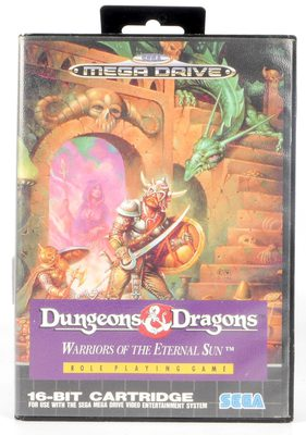 Dungeons & Dragons: Warriors Of The Eternal Sun - Mega Drive