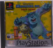 Monsters Inc. Scare Island (Platinum) - PS1