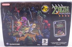 The Legend Of Zelda: Four Swords Adventures + GBA Cable - Gamecube