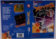 Xevious (Original YAPON Rental Cover Paper)