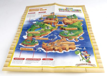 EMPTY BOX - Super Mario World: Super Mario Advance 2 (box + manual + map, no game!)