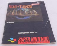 Secret Of Evermore (Manual)