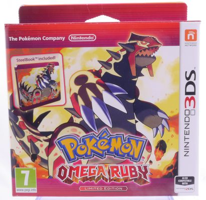 Pokemon Omega Ruby Limited Edition