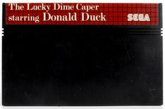 The Lucky Dime Caper Starring Donald Duck - Master System
