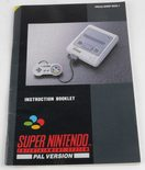 Super Nintendo Console (Manual)