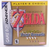 The Legend Of Zelda: A Link To The Past And Four Swords (Player's Choice) - GBA