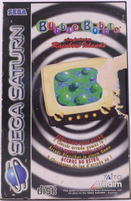 Bubble Bobble Also Featuring Rainbow Islands - Saturn