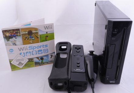 Wii Console + Wii Sports