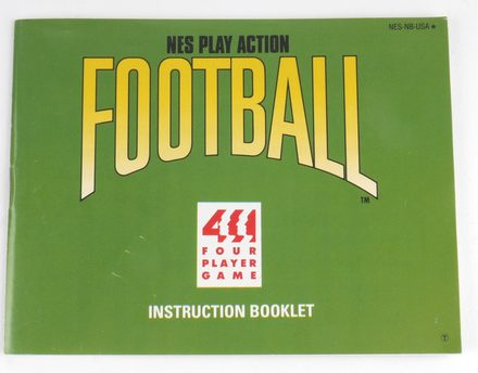 NES Play Action Football (Manual)
