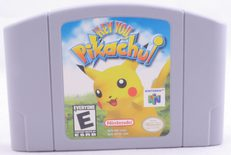 Hey You, Pikachu! - N64