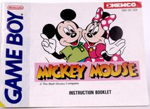 Mickey Mouse (Manual)