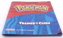 Pokemon Trainer's Guide Ruby / Sapphire (Manual)