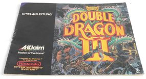 Double Dragon III: The Sacred Stones (Manual)