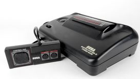 Sega Master System II Console With Sonic The Hedgehog