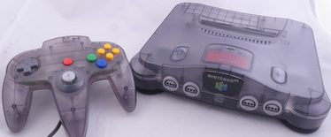 Nintendo 64 Console Smoke / Clear Black (Includes Expansion Pak)