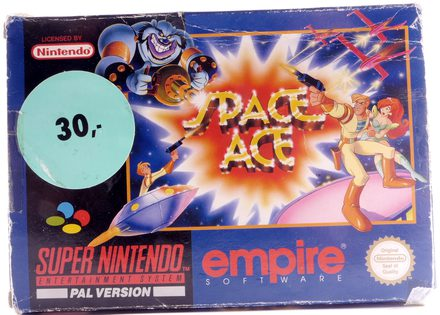 Space Ace - SNES
