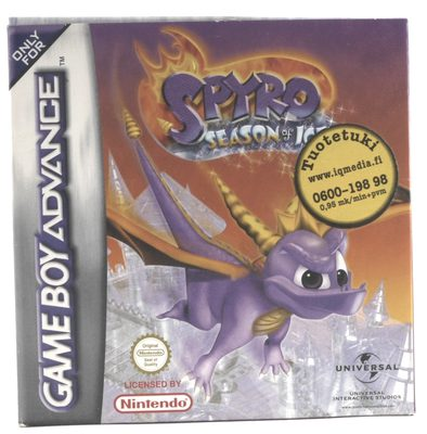 Spyro: Season of Ice - GBA