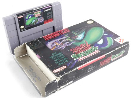 Teenage Mutant Hero Turtles: Tournament Fighters - SNES